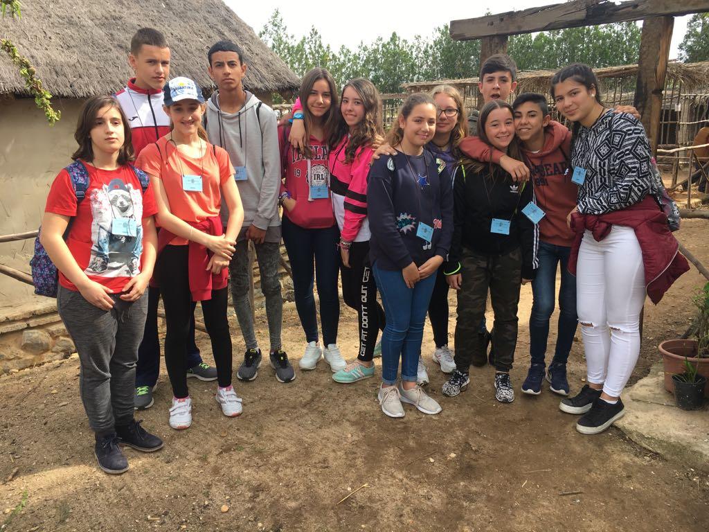 El IES Fuente Juncal de Aljaraque conoce el Poblado Tartésico de Gibraleón
