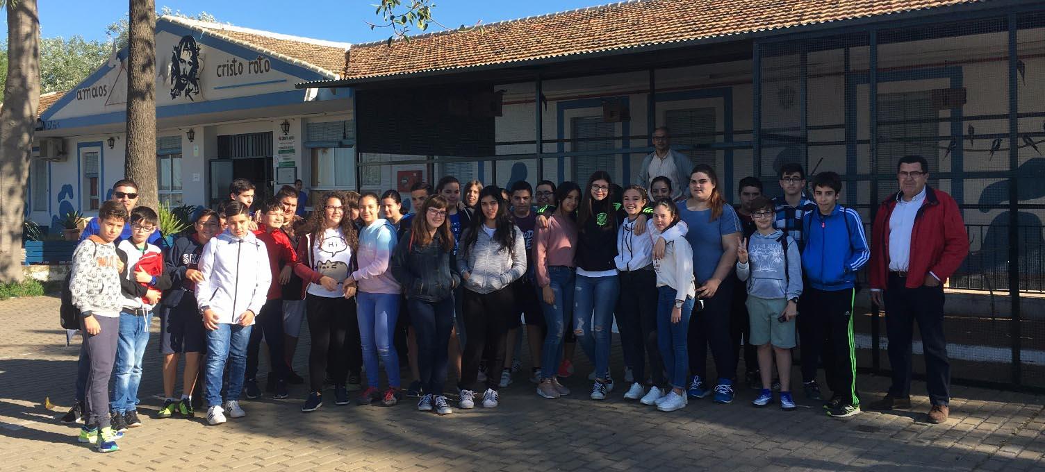 El IES La Rábida de Huelva conoce el Poblado Tartésico de Gibraleón