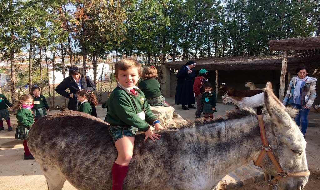 Los más pequeños de las Agustinas visitan Poblado Tartésico
