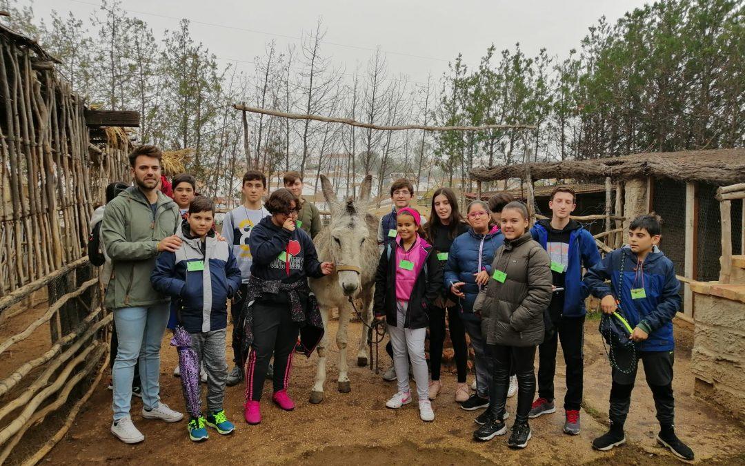Visita de los alumnos y alumnas de 1º de E.S.O del I.E.S. Saltes de Punta Umbría – Huelva