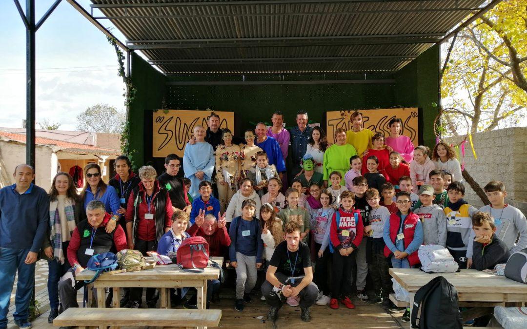 Visita de los alumnos y alumnas del CEPR Lope de Vega de Almonte – Huelva 28-11-19