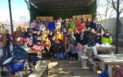 Visita de los alumnos y alumnas de 1º de ESO del IES El Valle, de Hinojos-Huelva. 17-12-19