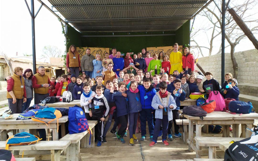 Visita de los alumnos y alumnas de 4 de Primaria del CEIP Marismas del Tinto, de San Juan del Puerto – Huelva. 21-01-20