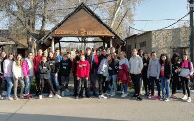 Visita del IES La Rábida de Huelva, el 19 de Febrero de 2020. Alumnos y alumnas de 1 ESO