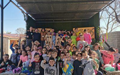 Visita del CEIP Virgen del Carmen, Punta Umbría.  Alumnos y alumnas de 4 Primaria. 24/02/2020.