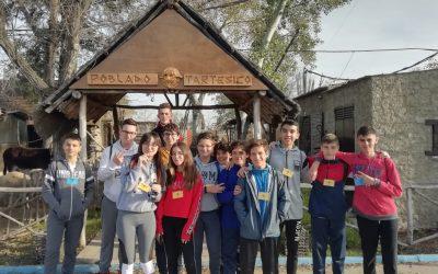 Visita del IES Fuentepiña de Huelva, el 3 de Marzo de 2020