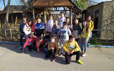 Visita de los alumnos y alumnas de 1º de ESO del IES Andévalo de la Puebla de Guzmán, Huelva. 06/03/2020