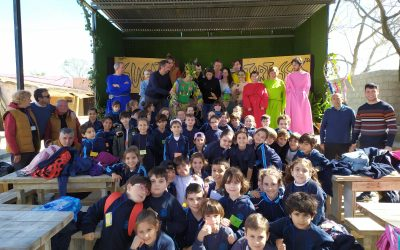 Visita del CEIP Santo Ángel de la Guarda, Huelva. Alumnos y alumnas de tercero de primaria. 25/02/2020