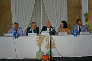Acto Inaugural Poblado Tartésico con Autoridades